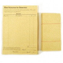 Valuation for Insurance Pads Forms & Envelope Luxury Parchment (50) - FB004 new item