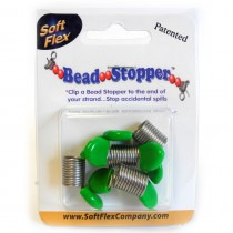 Bead Stoppers - Green Tips - FB42GREEN