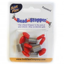 Bead Stoppers -Red Tips - FB42RED