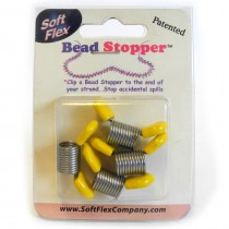 Bead Stoppers - Yellow Tips - FB42YELLOW