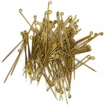 Assortment of Brooch Pins 32 & 38mm (Pack of 100) - FB510