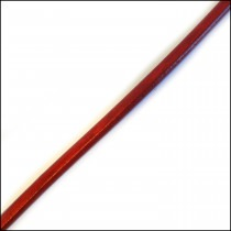 Liqourice Leather in Red 10mm