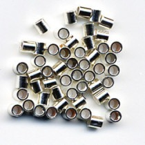 Crimp Tubes Silver, Medium - FC115
