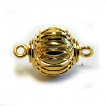 Magnetic Clasp GP 10mm Patterned - FC4497