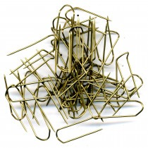 Economy Fixing Display Pins 25mm Gilt - FP418
