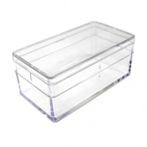 Bergeon 2975-2 Perspex Boxes 48mm x 24mm x 19mm - HB2975-2