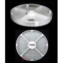 Basket Insert Plastic With 4 Divisions For Greiner ACS900 Ø80mm Height 8mm - HC15882
