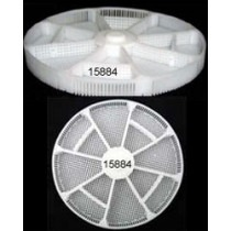 Basket Insert Plastic With 12 Divisions For Greiner ACS900 Ø80mm Height 8mm - HC15884