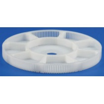 Basket Insert Plastic With 8 Divisions + Centre For Greiner ACS900 Ø80mm Height 8mm - HC15894