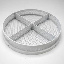 Elma Solvex VA 80mm Rilsan Coated Stainless Steel Basket With 4 Divisions - HCVA17