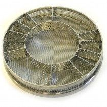 Elma Solvex VA 80mm Insert Basket With 11 Divisions With 40mm Centre - HCVA22