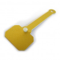 Gold Jewellery Dumbell Tags - HL448