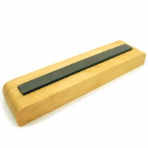 Screwdriver Sharpening Stone On Wooden Base - HS1279