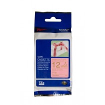 Brother TZe-RE34 Gold on Pink Ribbon Cartridge - HTZERE34
