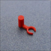 Watch Battery Stoppers 0.70mm Red Pack Of 100 - MS070