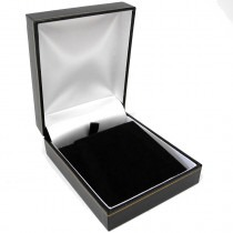 Pendant Case Box (Large) Black 76mm x 92mm x 35mm - SP825