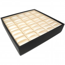 Leatherette Display Ring Tray - ST01 New Item