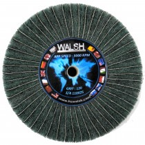Flap Wheel Mixed Cloth Grade 400 - T68400, scotchbrite, emery