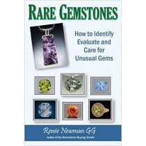 Xmas Books Rare Gemstones: How to Identify, Evaluate and Care for Unusual Gems - TB17052
