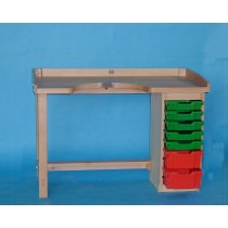 Jewellers High quality 9 Drawer Bench - TB211