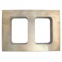 Mould Frame - Double Opening 73mm x 47mm x 25mm - TC011,casting,moulds