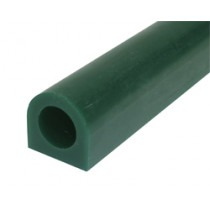 Green Ring Wax, Flat Sided Tube, 25mm Flat Side, 25mm High - TC0124, wax carving,wax