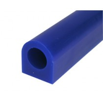 Blue Ring Wax, Flat Sided Tube, 25mm Flat Side, 28mm High,wax carving,wax