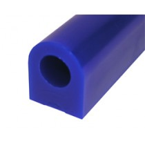 Blue Ring Wax, Flat Sided Tube, 32mm Flat Side, 32mm High,wax carving,wax