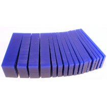 Blue Carving Wax Block - Slices 5-25mm, carving wax,wax