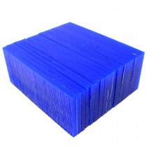 Blue Carving Wax Block - Slices 3-6mm - TC0140,carving wax,wax