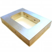 Mould Frame 47mm x 73mm x 19mm - TC07,carving,wax