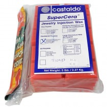 Castaldo Supercera Super Cera Orange Wax 5lbs - TC0987