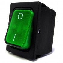 Elma Green On / Off Illuminated Switch For Elma Unispeed / Multispeed - TZP828