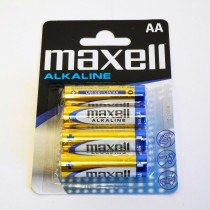 Maxell LR6 (AA) Battery 4 pack - CB0123
