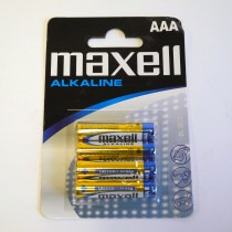 Maxell AAA Battery 4 pack - CB0125