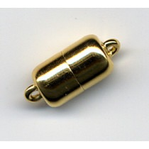 Magnetic Gold Plated Silver Clasp 7x13 - FC4474