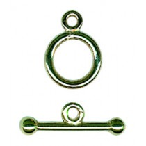 Toggle & Ring, 9ct Gold - FC54