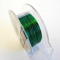 Craft Wire - Green - 0.52mm Thick - 18.28M Length - FT224GREEN