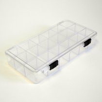 Perspex Storage Box With 18 Compartments - HB325