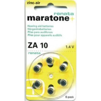 Renata ZA10 Hearing Aid Battery - MB0ZA10