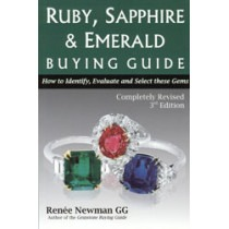 Ruby, Sapphire & Emerald Buying Guide - TB17035 book