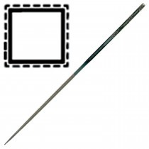 Swiss 18cm Needle File Square Cut 2 Medium - TF1862