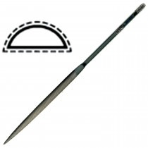 Needle File -14 CM HALF ROUND CUT 0 - TF830