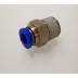 "1/4"" BSP to 6mm Male Push Fitting - TZP386"