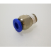 "1/8"" BSP to 6mm Male Push Fitting - TZP386A"