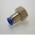 "3/8"" BSP to 6mm Female Push Fitting - TZP386C"