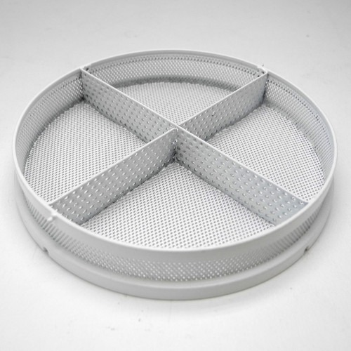 6a7bf86f948b elma solvex va mm rilsan coated stainless steel basket with divisions hcva  with rilsan